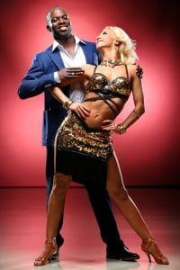 Hans Sarpei (38), ehemaliger Fußballprofi tanzt mit Profitänzerin Kathrin Menzinger (27)