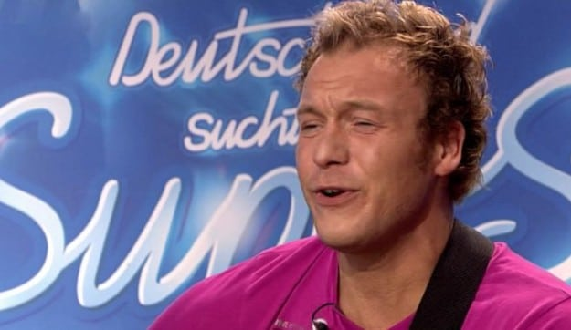 Helmut Orosz im Casting bei DSDS 2010