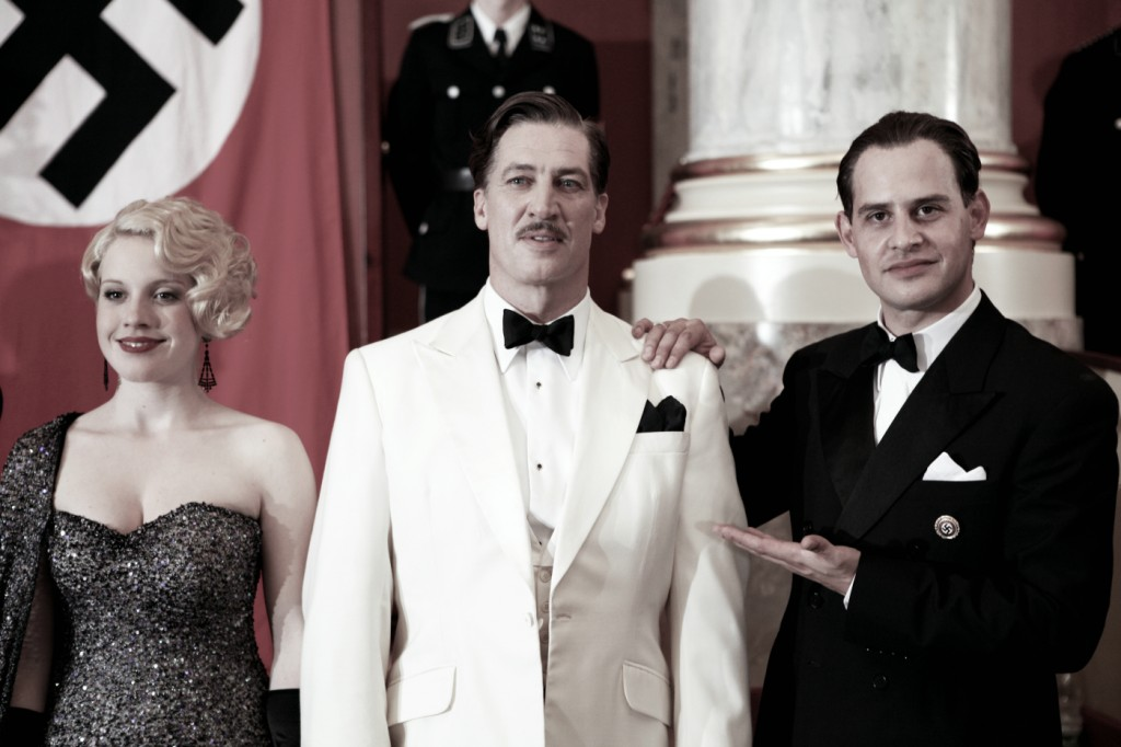 Moritz Bleibtreu, Paula Kalenberg und Tobias Moretti in Jud Süss