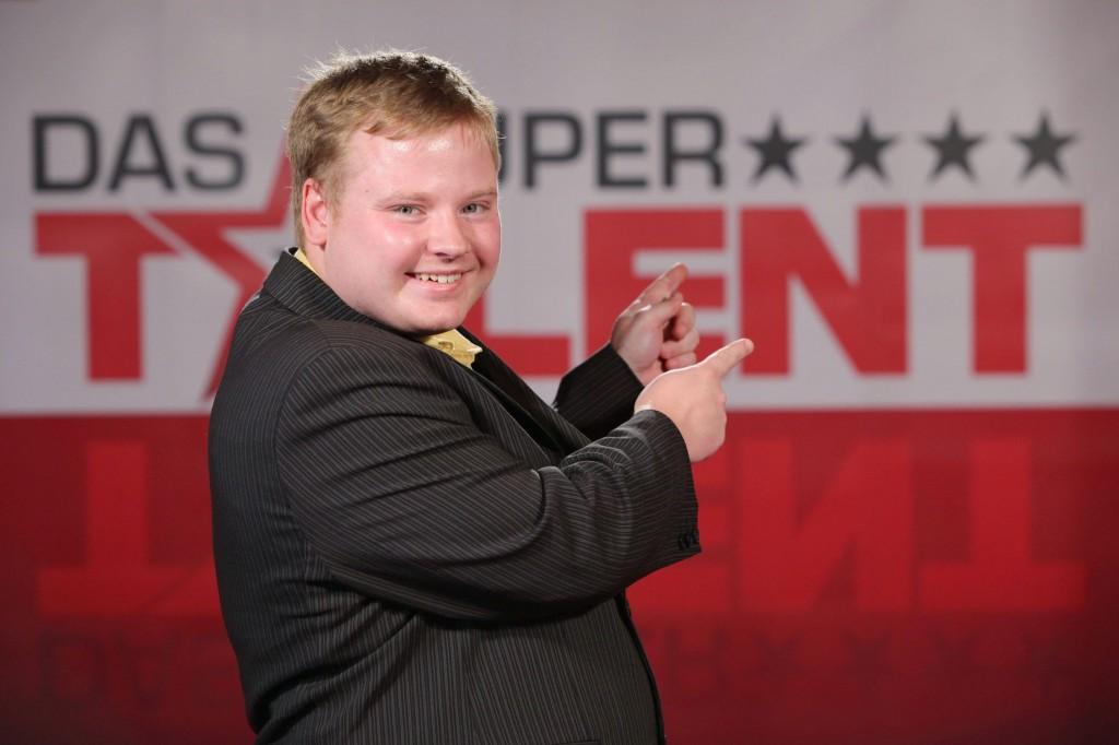 Thomas Lohse beim Casting zu Das Supertalent 2010