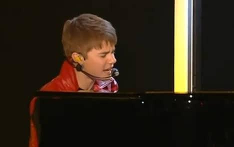 Justin Bieber bei Wetten dass