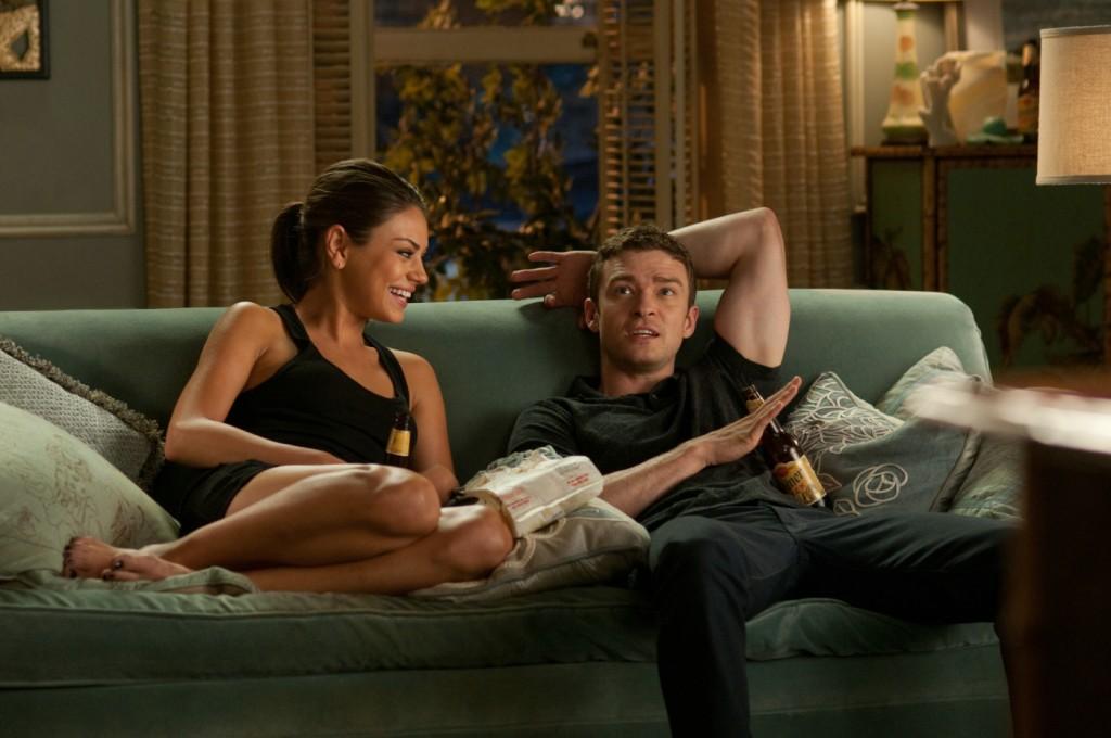 """Justin Timberlake (""""Dylan"""") und Mila Kunis (""""Jamie"""")"""