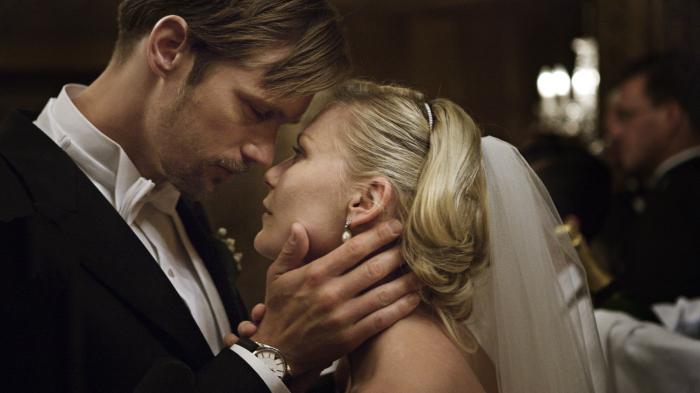Justine (Kirsten Dunst) und Michael (Alexander Skarsgard).