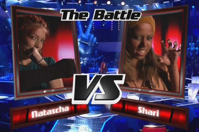 Natascha und Shari im Battel