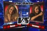 Tessa und Verena beim Battle