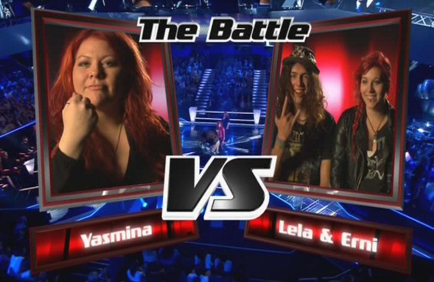 Yasmina, Lela und Erni beim Battle