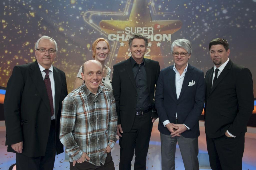 Klaus Töpfer, Bernhard Hoecker, Andrea Sawatzki, Jörg Pilawa Marcel Reif, Tim Mälzer