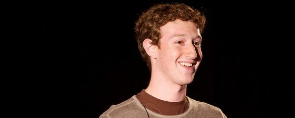 Mark Zuckerberg, Facebook, Text: dts Nachrichtenagentur