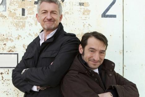 Boris Aljinovic und Dominic Raacke
