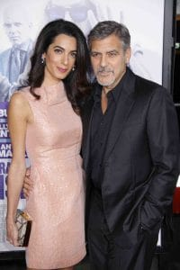 """Amal Clooney and George Clooney - """"Our Brand Is Crisis"""" Los Angeles Premiere"""
