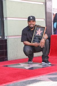 Ice Cube Honored with a Star on the Hollywood Walk of Fame