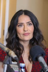"""Salma Hayek - """"How to Be a Latin Lover"""" Los Angeles Photocall"""