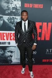 """50 Cent - """"Den of Thieves"""" Los Angeles Premiere"""