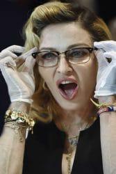 Madonna MDNA Skin Launch Barneys New York Madison Avenue