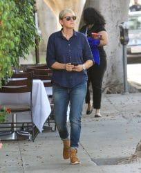 Ellen Degeneres Sighted in Beverly Hills on September 26, 2018