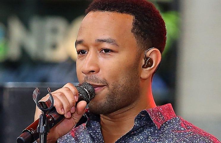 "John Legend in Concert on NBC's ""Today Show"" at Rockefeller Center in New York City"