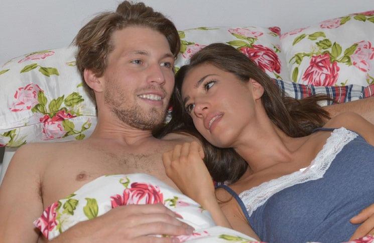 Dominik (Raul Richter) und Elena (Elena Garcia Gerlach)