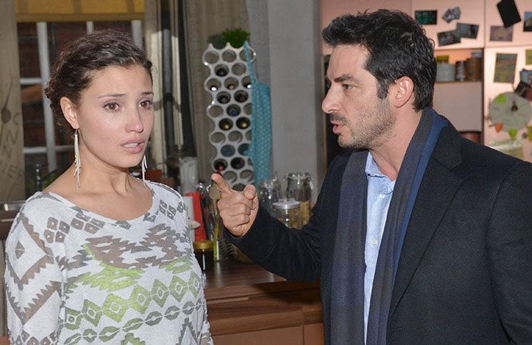 Ayla (Nadine Menz) und Tayfun (Tayfun Baydar)