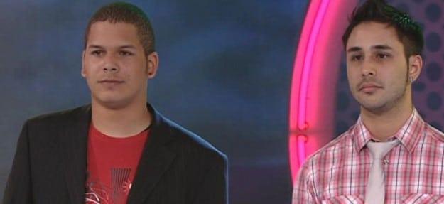 Dan und Damien bei der Bewährungsshow