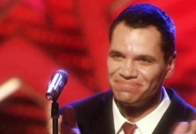 Davy Kaufmann singt beim Supertalent 2009