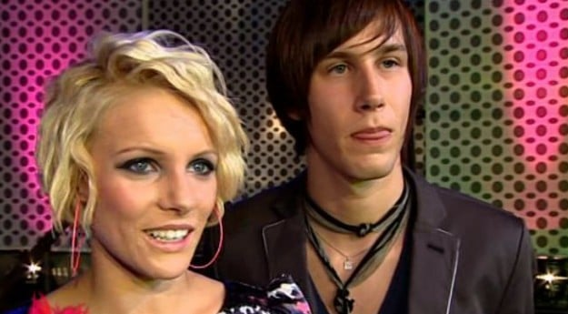 Dagmara und Daniel bei Popstars