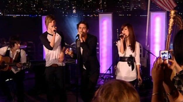 Nik und Elif in New York bei Popstars Du und Ich 2009