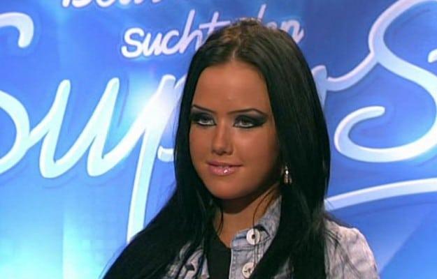 Kim Debkowski beim Casting zu DSDS 2010