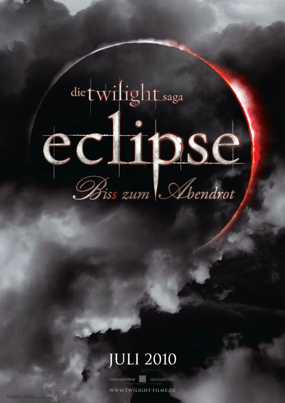 Twilight 3 - Eclipse - Plakat
