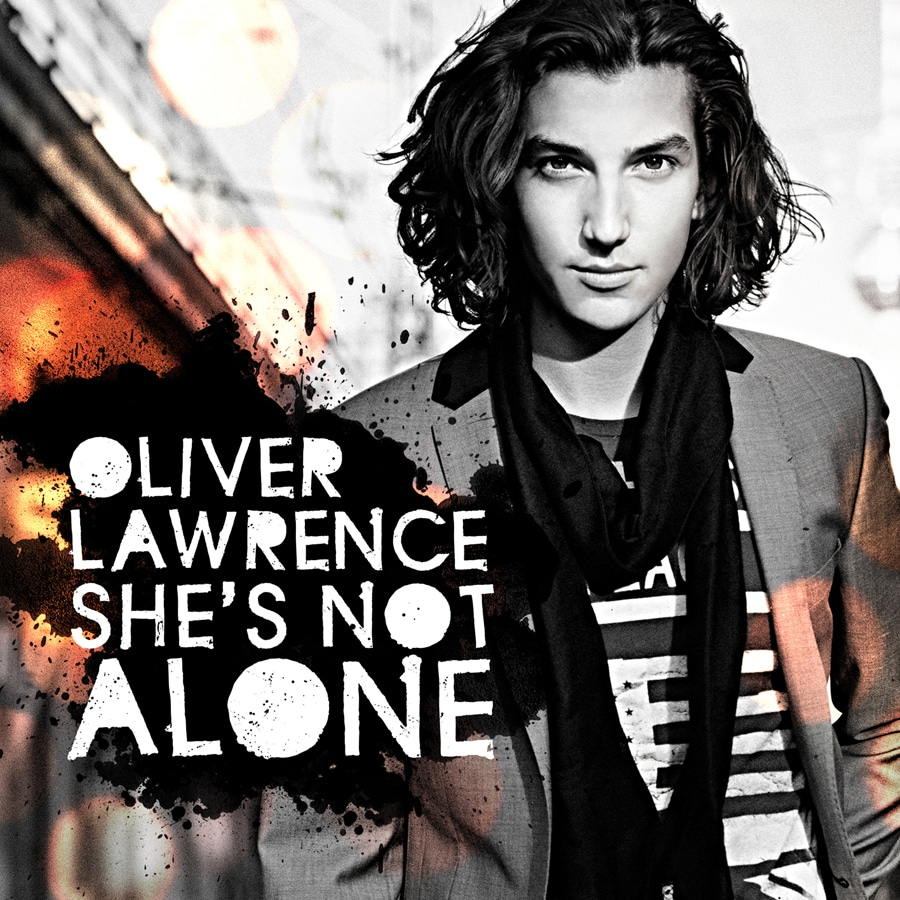Oliver Lawrence She's not Alone Single Cover