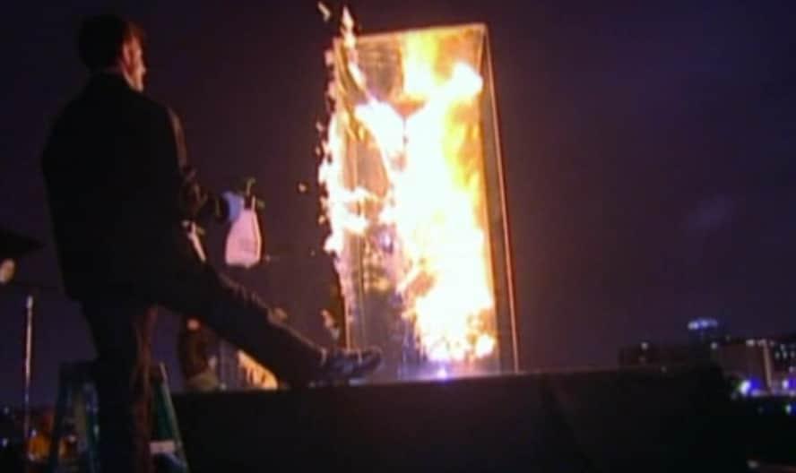 Feuershooting bei GNTM 2010