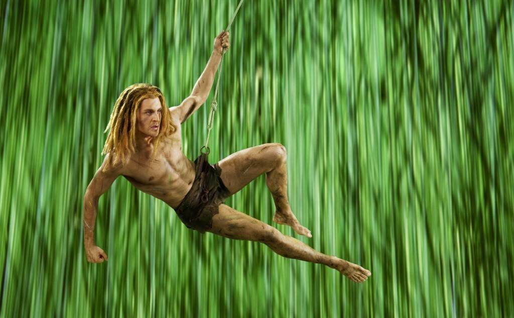 Alexander Klaws als Tarzan