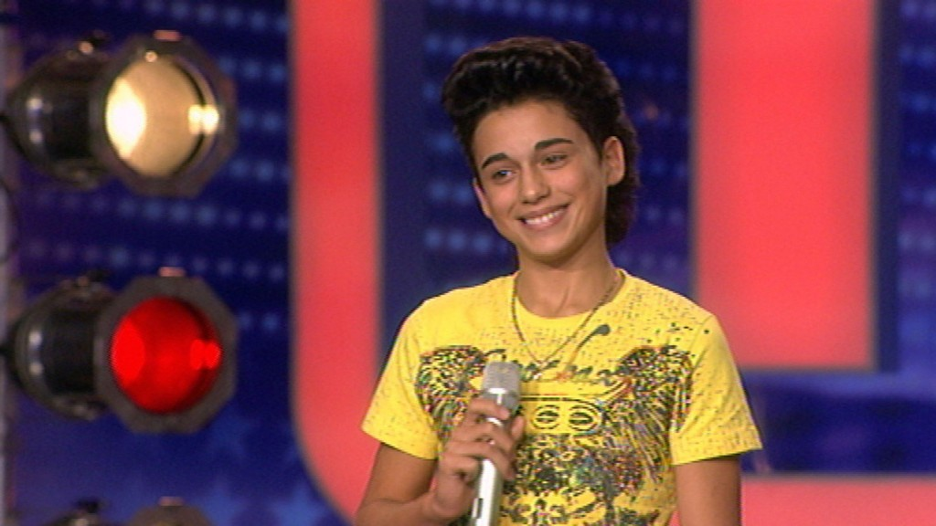 Andrea Renzullo beim Supertalent Casting 2010