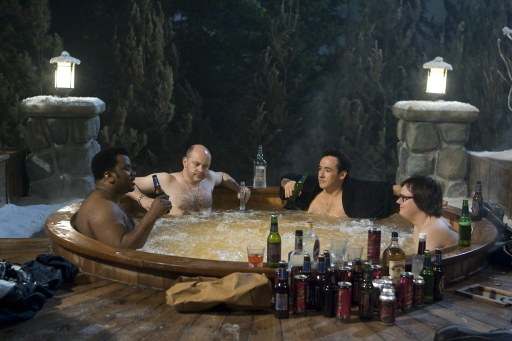 Nick (Craig Robinson), Lou (Rob Goddry), Adam (John Cusack) und Jacob (Clark Duke)