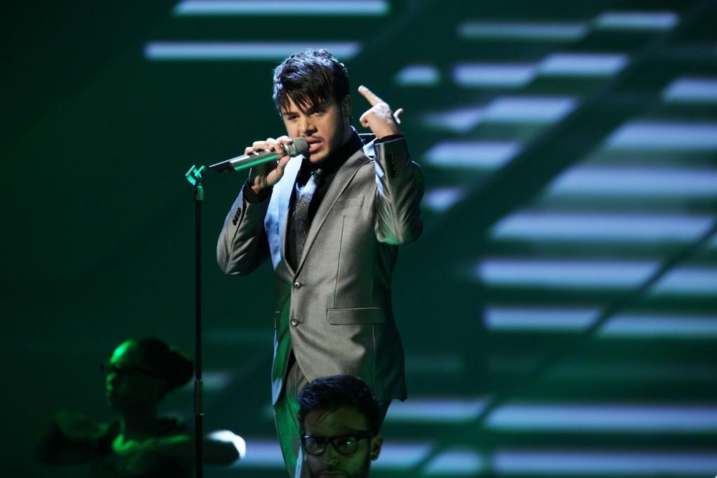 Pino Severino rockt den X Factor