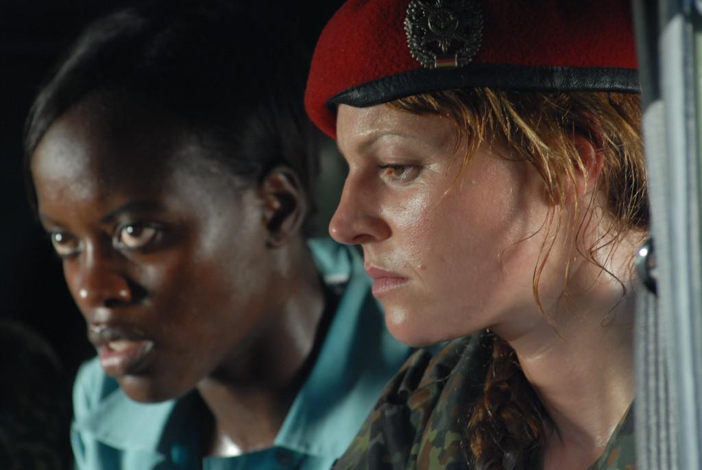 Maria Simon und Florence Kasumba in Kongo
