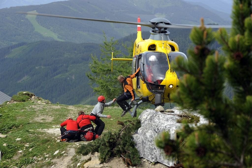 Die Bergwacht -Szenenbild