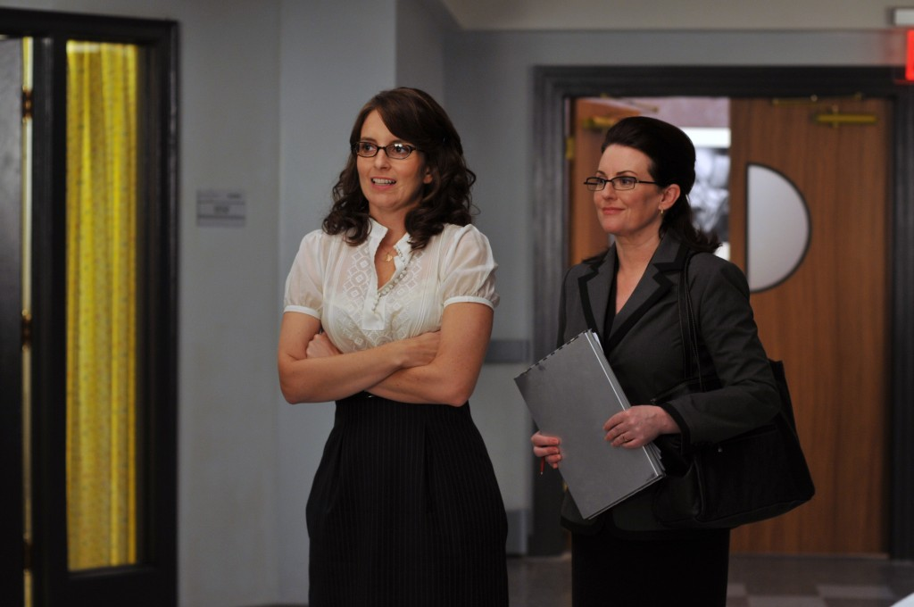 Tina Fey und Megan Mullally in 30 Rock
