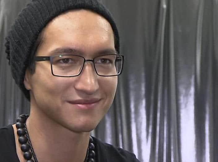 Anthony Thet in vor der dritten X Factor Liveshow 2010
