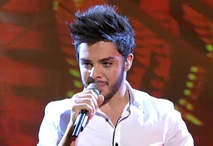 Pino Severino singt James Brown bei X Factor 2010