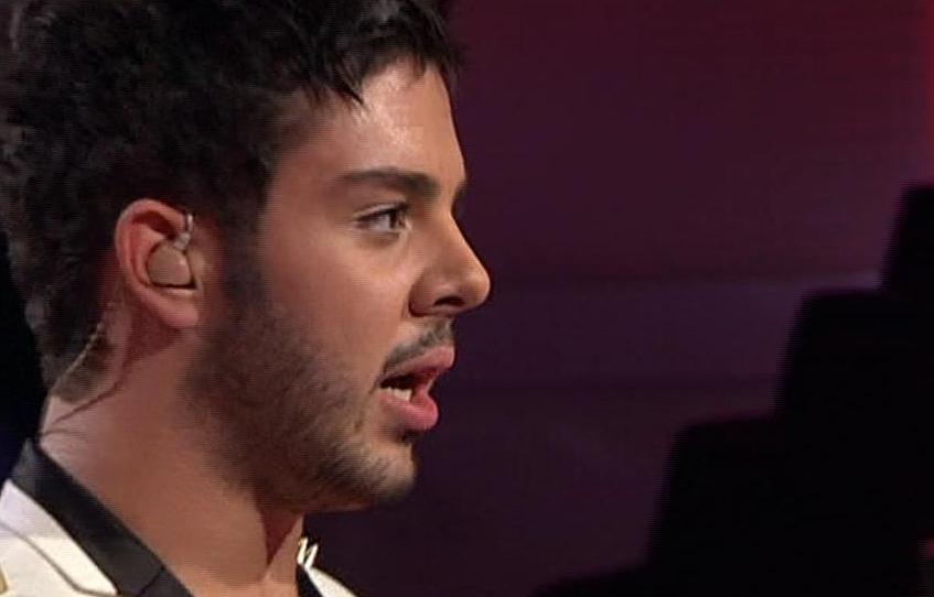 Pino Severino in der vierten Liveshow X Factor 2010