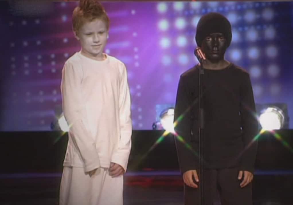 Antonio Martino und Lukas Wolf beim Casting zu Das Supertalent