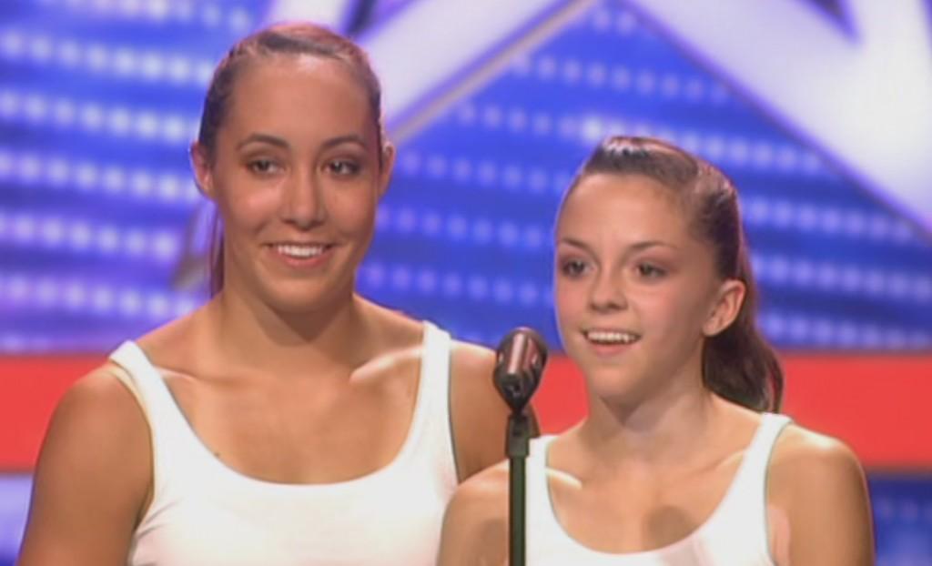 Janina und Sophie Hiller beim Supertalent Casting 2010