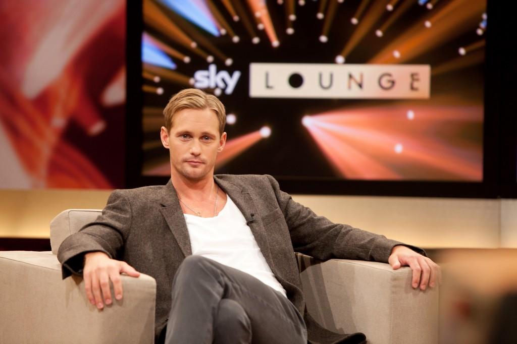 """Alexander Skarsgard ist Talkgast in der """"Sky Lounge"""""""