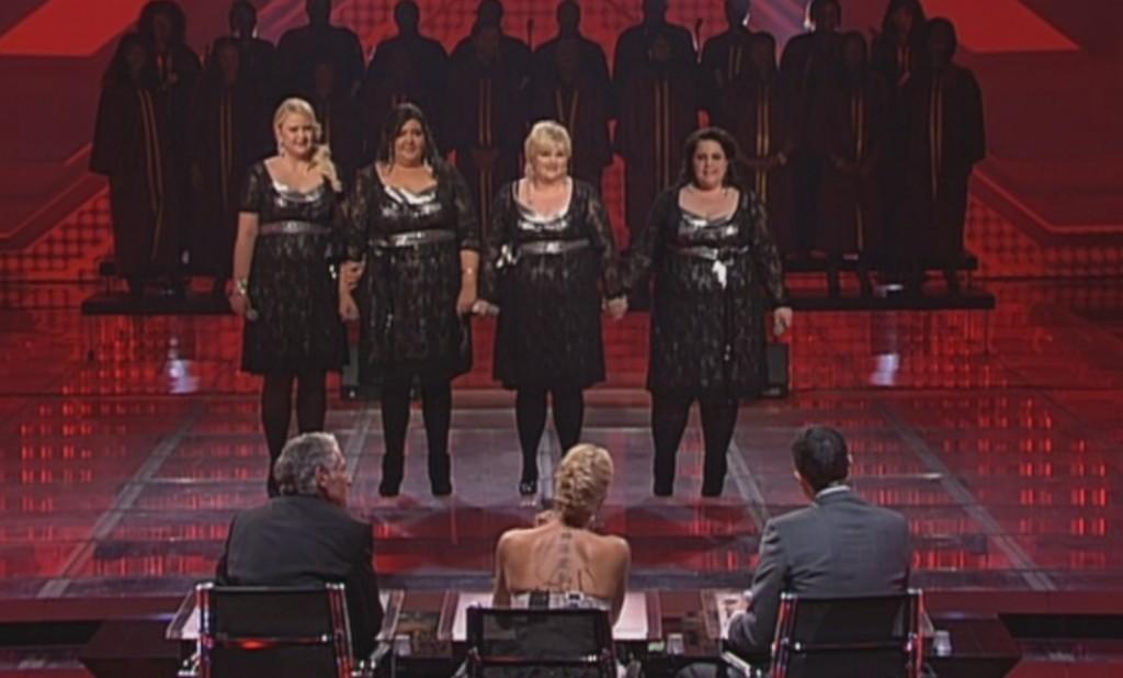 Big Soul im Halbfinale von X Factor 2010