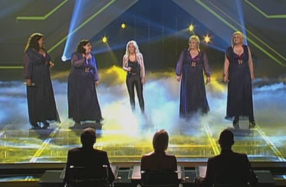 Big Soul mit Shakira bei X Factor