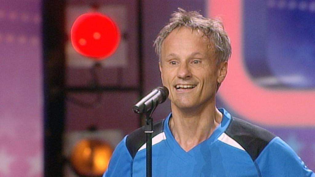 Bernd Weckerle beim Casting