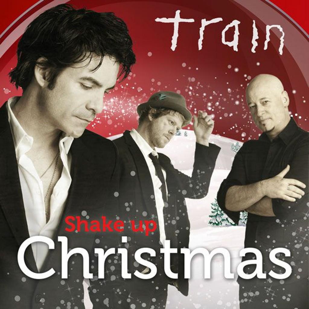 Train Shake Up Christmas Single Cover