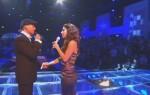 Xavier Naidoo und Edita Abdieski beim Finale zu X Factor