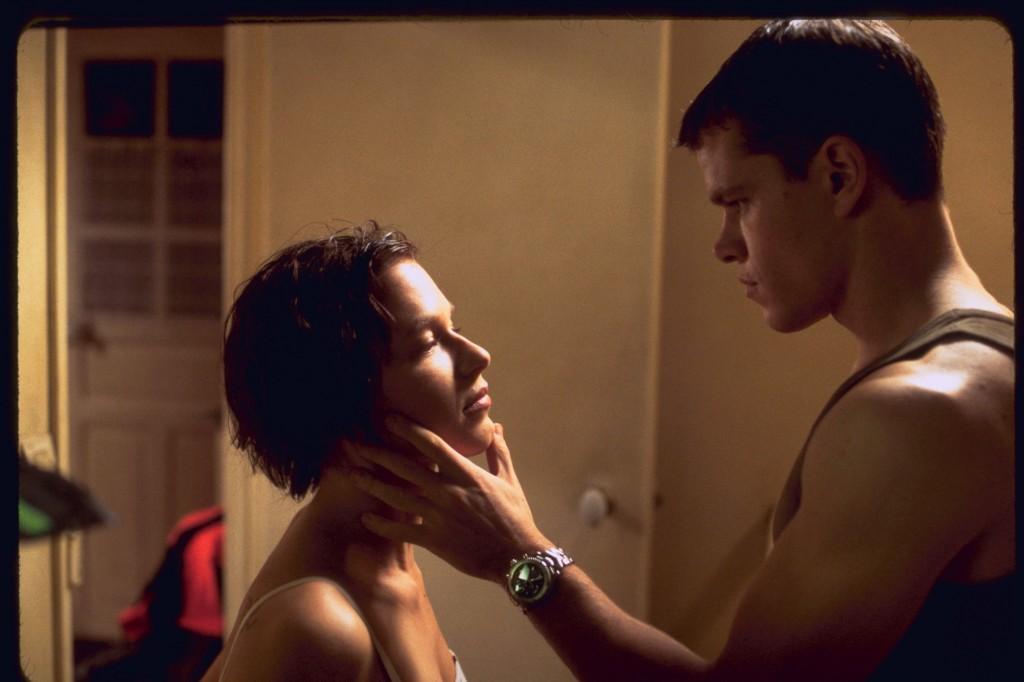 Franka Potente und Matt Damon