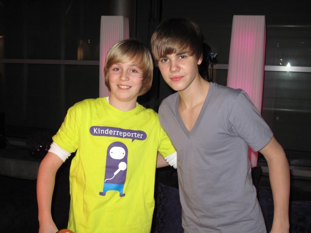 logo!-Kinderreporter Max trifft Justin Bieber
